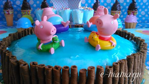 Φτιάξε ζελέ επικάλυψης τούρτας με εφέ νερού – Piping gel 2
