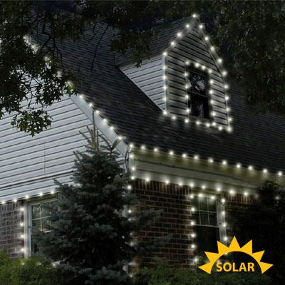 Solar Powered Christmas Lights Home Depot