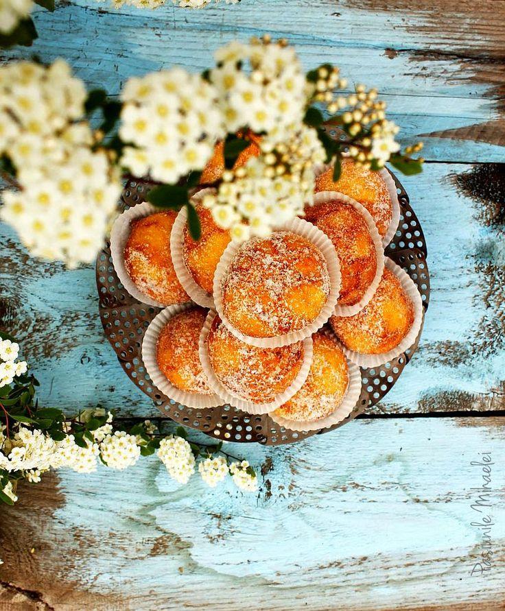 Gogosi cu lamaie si branza dulce, fara dospire | Pasiunile Mihaelei