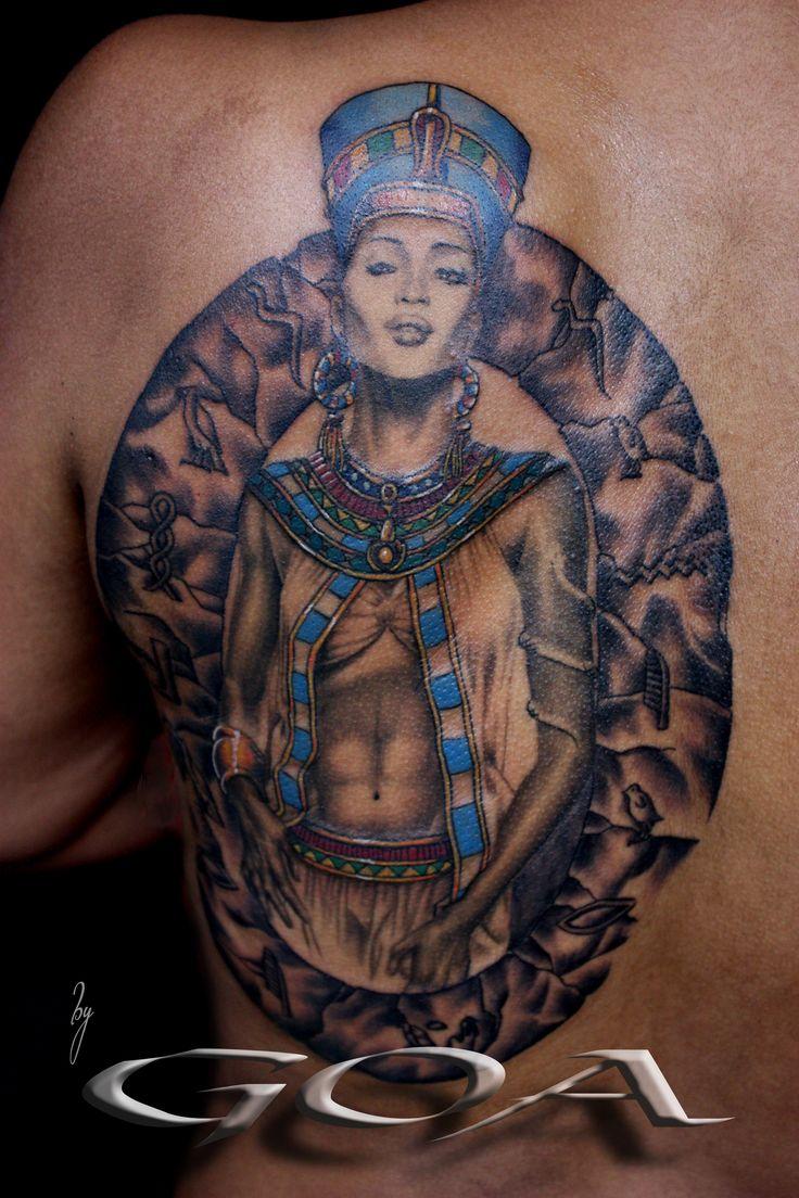 Nefertiti Tattoo (reference Naomi...)   TATTOO   Nefertiti ...