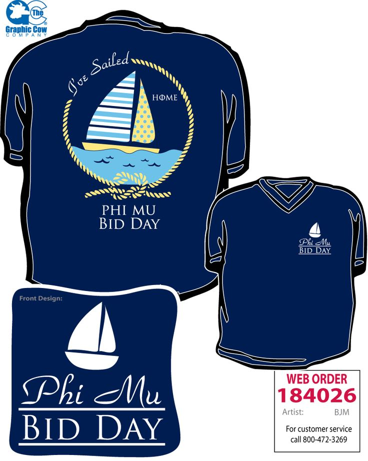 Phi mu bid day t shirt pinterest boats home and ideas for Sorority t shirt design