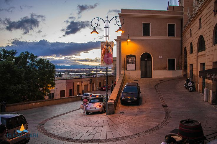Just a blend,through the old streets of Cagliari.