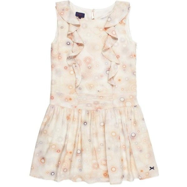 Paul Smith Girls' Spirograph Print Dress ($143) ❤ liked on Polyvore