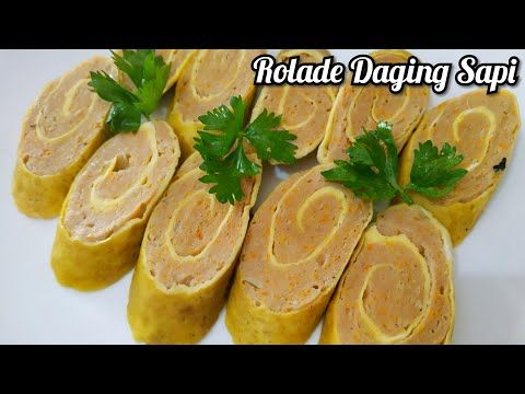 Resep Rolade Daging Sapi Frozen Food Youtube Daging Sapi Daging Sapi