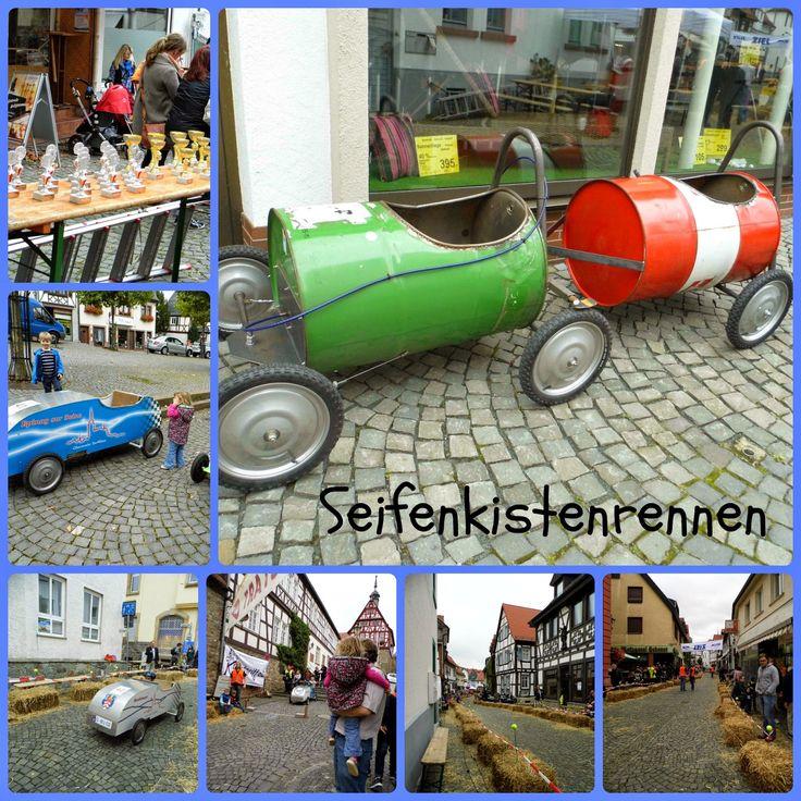 Seifenkistenrennen: course en caisses à savon! Races in a soap box! Oberursel, Germany / Allemagne. [La Cité des Vents]