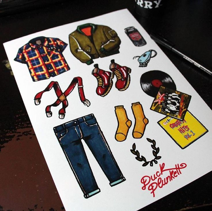 .Subculture Clothes. More and available in my etsy shop (link at the bio) Hurry up only 10 copies!! . . . . . . . #illustration #draw#tattoo #chelsea #england #tattoos #traditional #instagood #oldschooltattoo #drawings #drawing#ink #art#instaart #promarker #streetart #stickers #fredperry #fineart#creative #doodle#artbook #illustagram #skingirl #skinhead #skinbyrd #modstyle#mod #oldschool #sketch