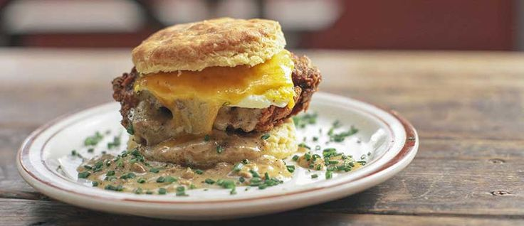 Heaven -- aka The Reggie Deluxe at Pine State Biscuits in Portland