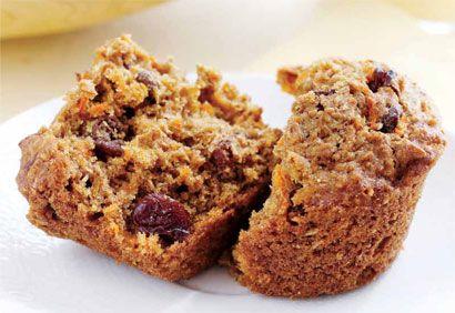 Muffins au son, aux carottes et aux raisins secs | .coupdepouce.com