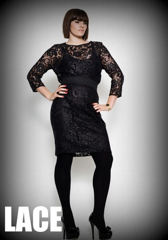 Fall 2012 Plus Size Trend: Lace