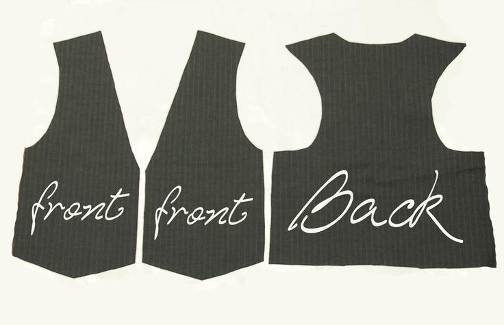 little boys vest pattern | vest pattern is pretty easy. I use a basic top drafted pattern ...