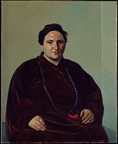 Portrait of Gertrude Stein, Felix Vallotton