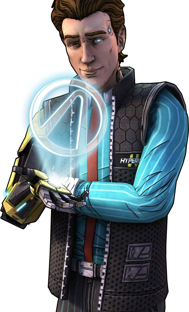 Rhys voiced by the amazing Troy Baker. This guy is starting to become one of my favorite characters.