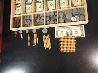 montessori money