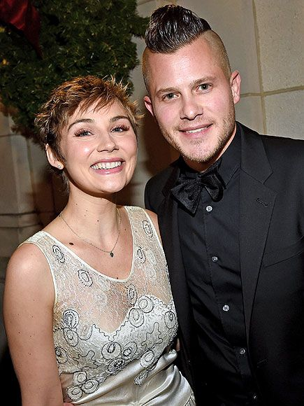 Brandon Robert Young popped the question during Clare Bowen's performance at the Grand Ole Opry