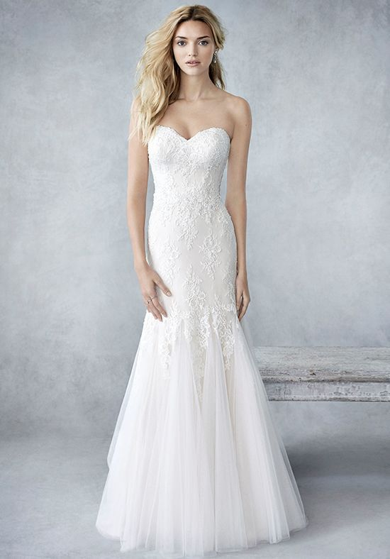 8fd6bffd11e3 Kenneth Winston  Ella Rosa Collection BE422 Wedding Dress - The Knot ...