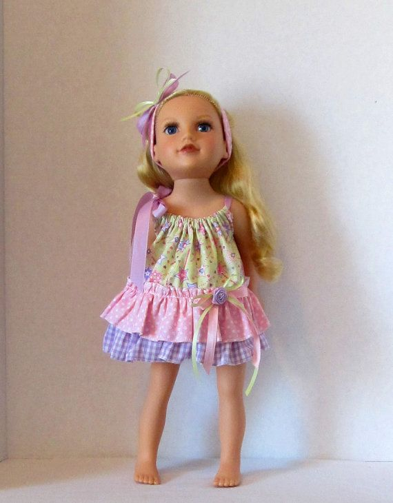 American Girl Doll Clothes 18 inch Dolls by HauteDesignsByNorine, $16.50