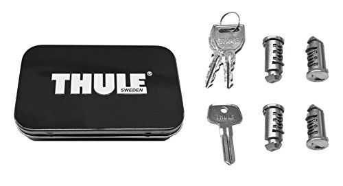 Thule 544 Lock Cylinders for Car Racks (4-Pack),4 Pack - Four Pack Lock Pack for Thule Racks and Accessories