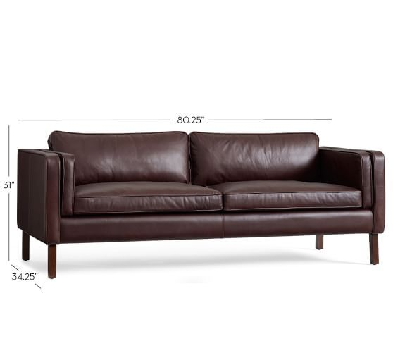Austin Leather Sofa Pottery Barn Living Room Pinterest Sofas And Rooms