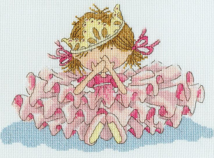 Bothy Threads Little Jem All Fall Down! Counted Cross Stitch Kit