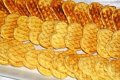 Norwegische Waffeln aus Kartoffelmehl