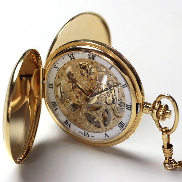 男を粋に魅せるアイコン風格のある時を刻む懐中時計