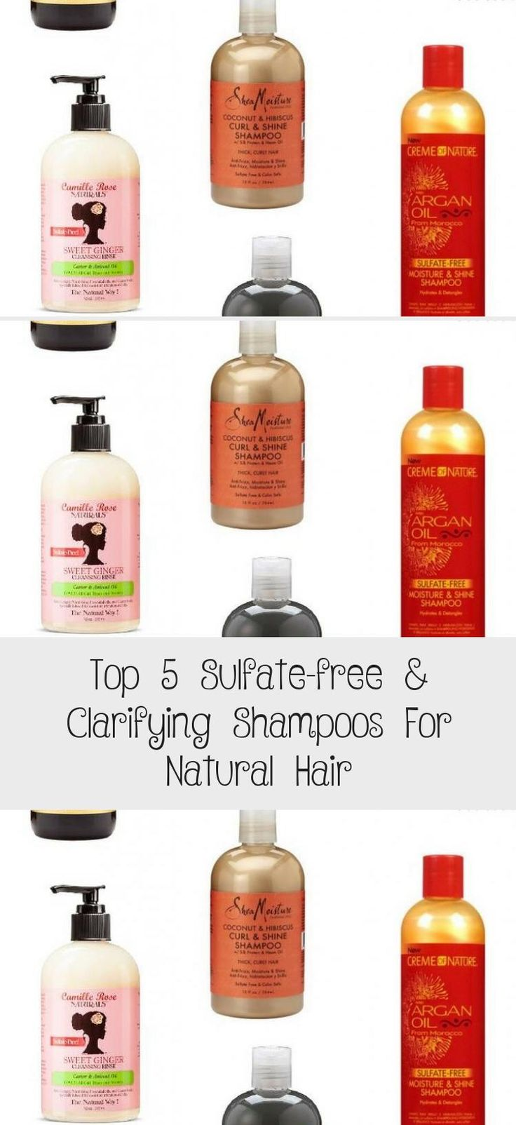 Top 5 Sulfate-free & Clarifying Shampoos For Natural Hair ...