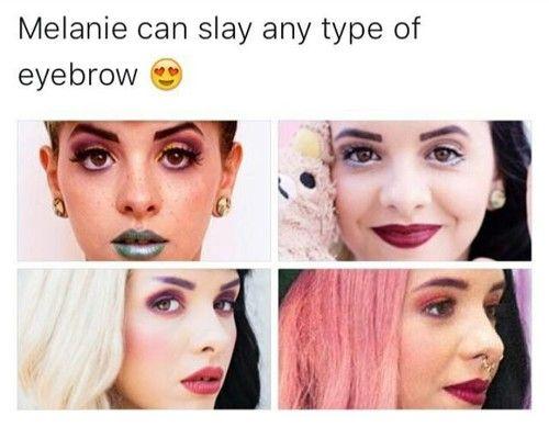 Halsey Eyebrows: 25+ Best Ideas About Melanie Martinez No Makeup On