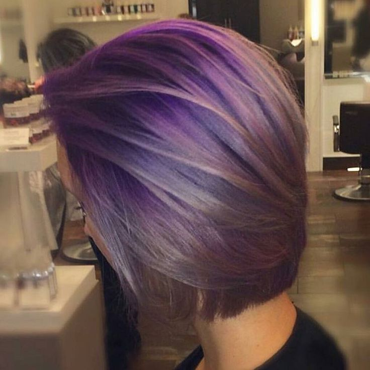 * Purple Shadow Root... By Kayla Z @shinemakeupartistry  at @soho_master_hair_stylists_ using @pravana #purplehair #behindthechair