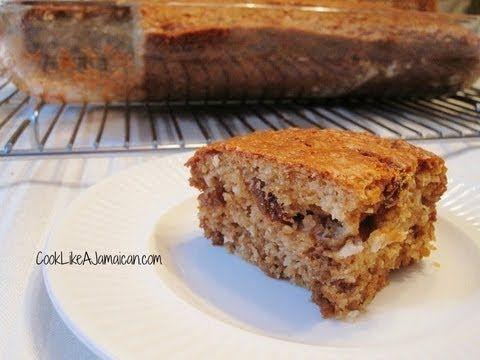 Toto, Jamaica   coconut cake