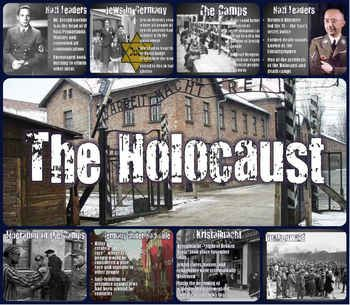 This PowerPoint covers the Holocaust from the Background through the liberation of the camps. Includes fantastic, visually-engaging slides with pictures, great notes, an included video, and more! A great lesson plan for the Holocaust in a World or US History class!