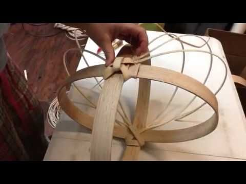 putting in the ribs | DIY | Appalachian Basketry |Jill Choate - J Choate…