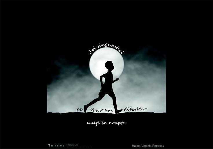 """Câştigătorul titlului: """"Haijin-ul anului 2011-2012"""" la Concursul de Haiku la Fotografie."""