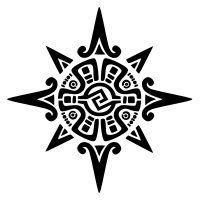 America- aztec, star, inca, mayan, precolumbian, sun, tonatiuh