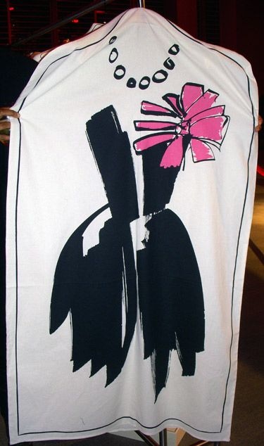Lanvin x H&M women's garment bag
