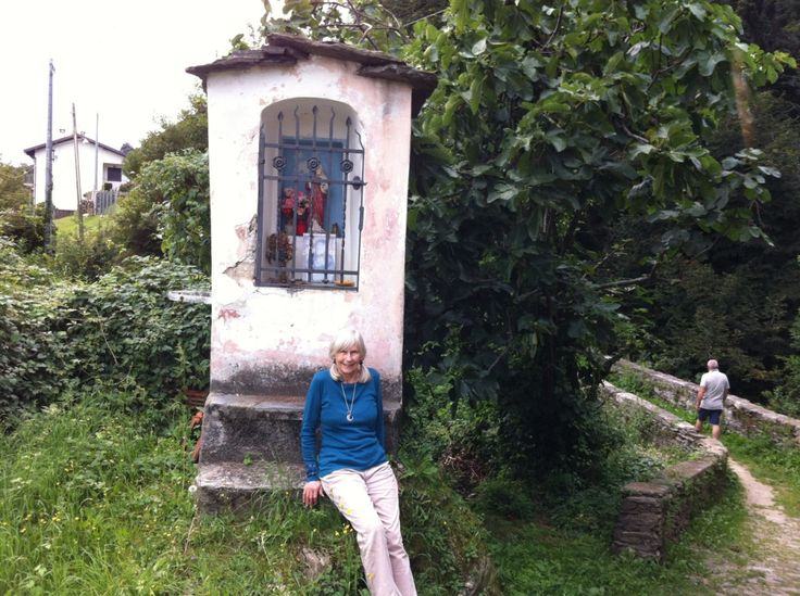 More walks around Oggebbio, time for a photo and rest