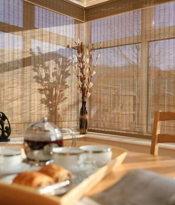 1000 images about woven wood shades on pinterest eclectic living room roman shades and. Black Bedroom Furniture Sets. Home Design Ideas