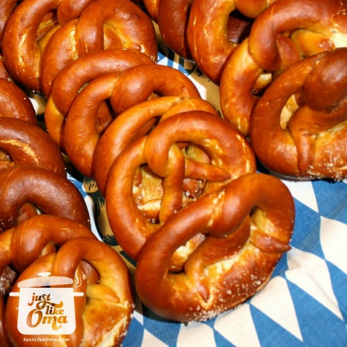 German Homemade Pretzels - authentic bakery style. Check out http://www.quick-german-recipes.com/homemade-pretzels.html ❤️it!  it! Make it! Enjoy it!