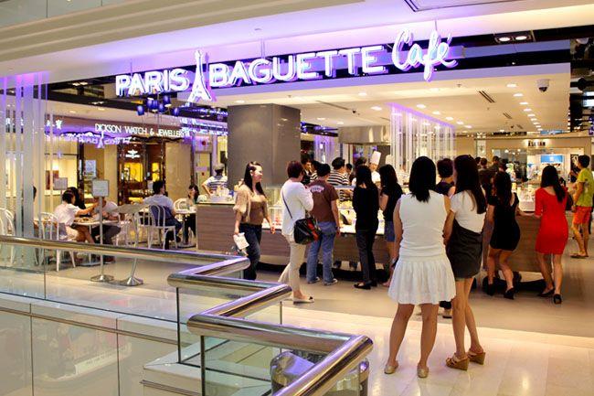Paris Baguette Singapore (Wisma Atria)  435 Orchard Road, #02-48 to 53 Wisma Atria, Singapore 239977 (Orchard MRT), Tel:+ 65 6836 2010, +65 6836