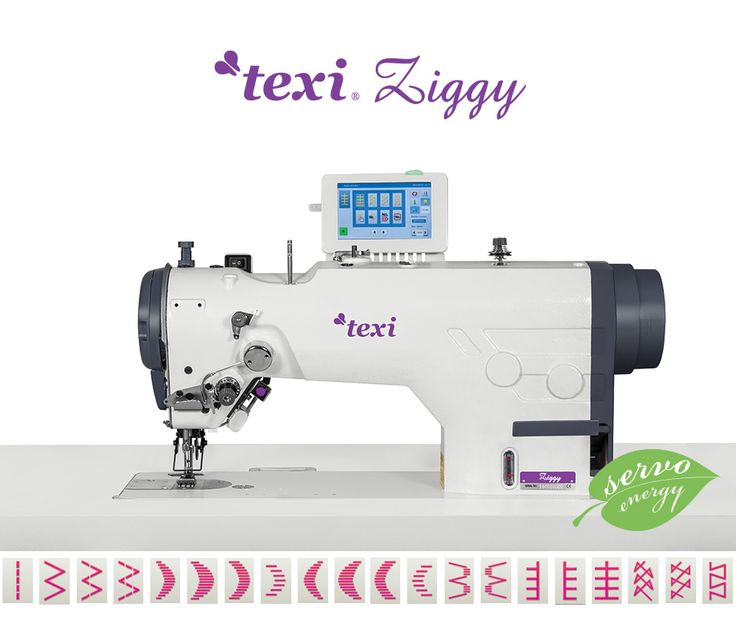 Texi Ziggy Premium EX - Electronic zigzag - complete sewing machine with 2 years warranty. #texisewing #sewingmachine #industrial