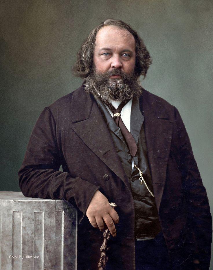 Mikhail Bakunin | Михаил Бакунин, 1860