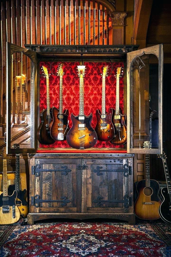 Diy Guitar Humidifier Cabinet 2020 Guitar Room Guitar Display Home Music Rooms