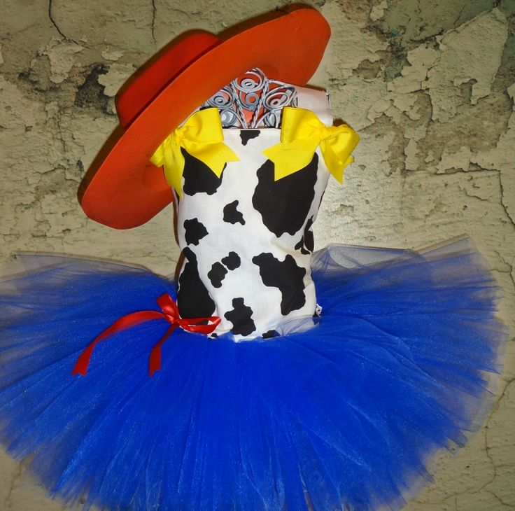 Tutu Dress Jessie Costume Baby Girls Toddler Cowgirl Costume Toy Story by LuresandLaceChildren on Etsy