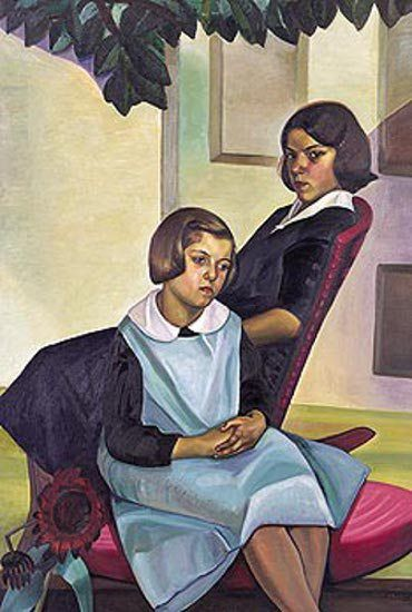 Prudence Heward. Sisters of Rural Quebec 1930