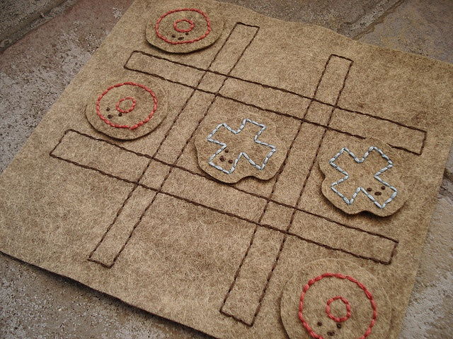 TicTacToe by wildolive, via Flickr