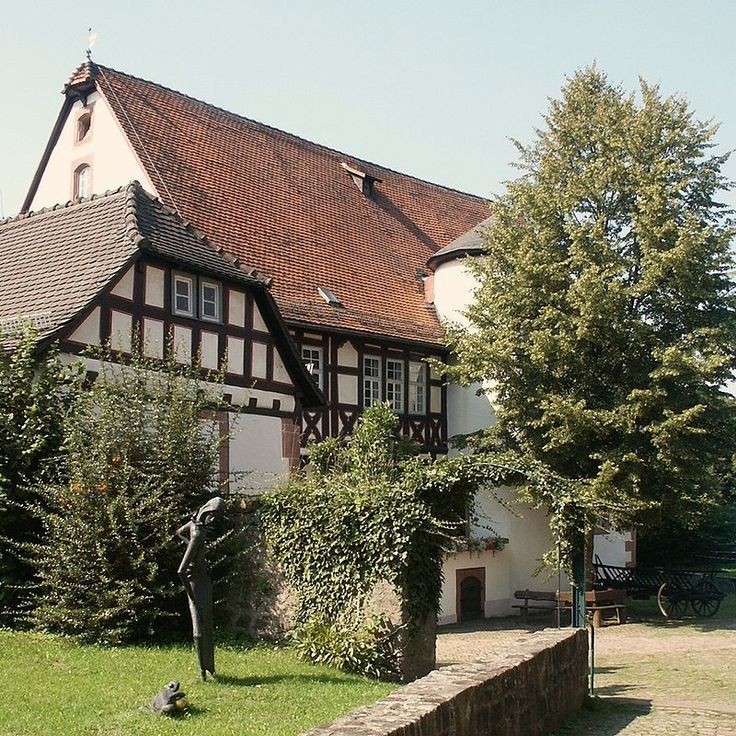 """* Casa onde viveram """"Os Irmãos Grimm"""", Jacob e Wilhelm, de 1791 até 1796 *  Steinau, Alemanha."""