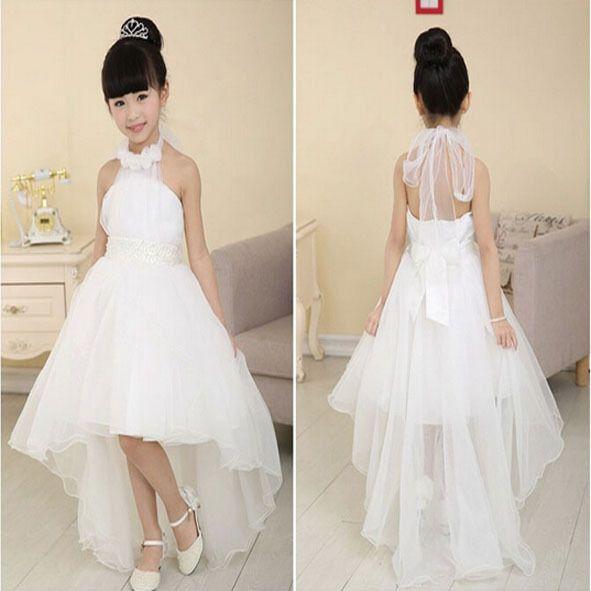 Niña de las flores vestidos para bodas tutu C128 niñas vestidos del desfile 2015 vestido de primera comunión de la muchacha del vestido para la boda(China (Mainland))