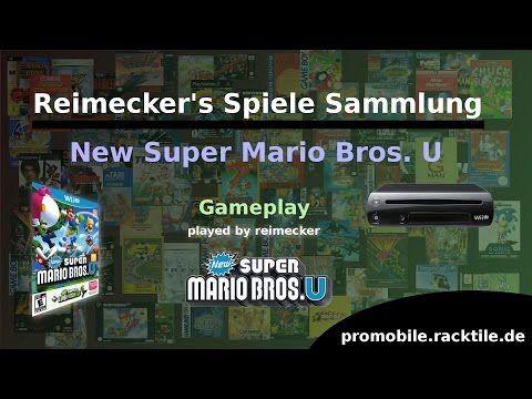 Reimecker's Spiele Sammlung : New Super Mario Bros. U