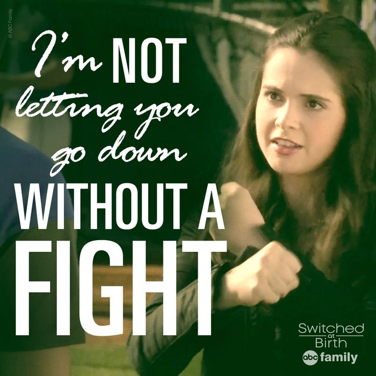 Good for Bay. | Switched at Birth Quotes