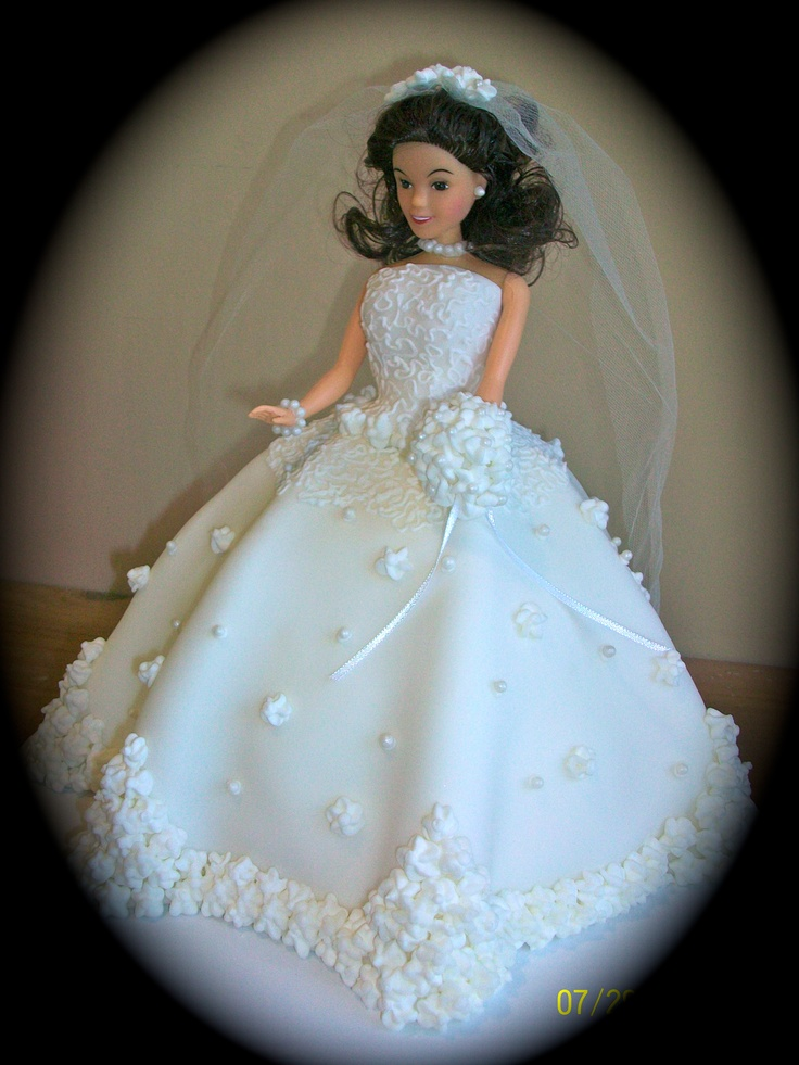 Bride Doll Cake for a Bridal Shower | Things I've Made ...