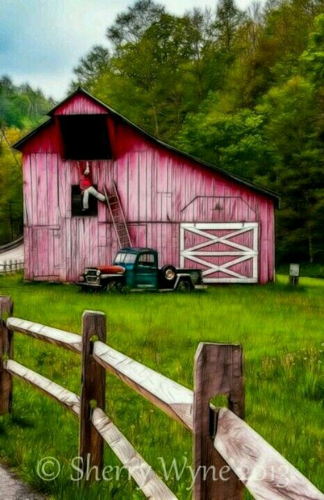 13 Best Purple Barns Images On Pinterest Barn Old Barns